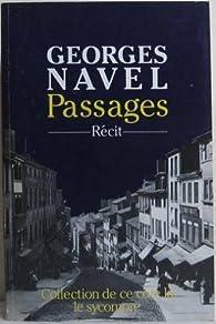 Passages (De ce côté-là) par Georges Navel