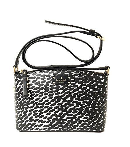 Kate Spade New York Grove Street Millie Leather Shoulder Handbag Purse (Blackmulti)