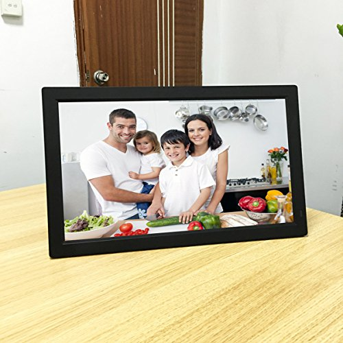 Digital Photo Frame 18.5-inch HD Widescreen Video Advertising Digital Signage Display 18.2 * 11.1 * 1.5in
