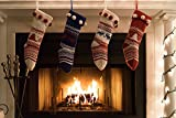 Knitted Christmas Stockings Traditional Holiday