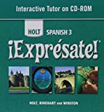 ¡Exprésate!: Interactive Tutor CD-ROM Level 3