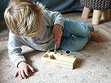 MEROCO Montessori Screw Driver Board for Kids