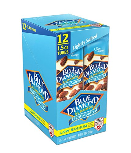 Blue Diamond Almond Growers (Blue Diamond Almonds, Lightly Salted, 1.5 Ounce (Pack of 12))