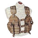 BDS Tactical Stacker Assault Vest - Coyote Brown