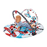 Yookidoo Baby Gym and Play Mat - 3 Stage Accessory Gym with Motorized...