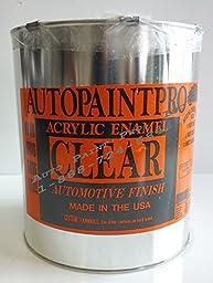 Enamel clear coat restoration auto car paint