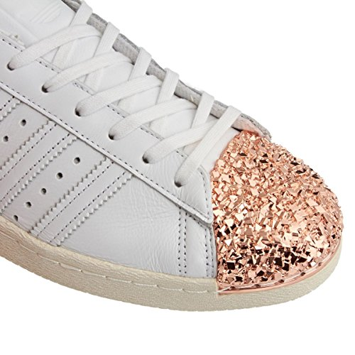 Adidas Superstar 80s 3d Metal Toe Mujeres Sneakers Blanco