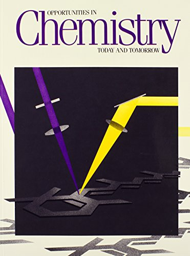 Opportunities in Chemistry: Today and Tomorrow