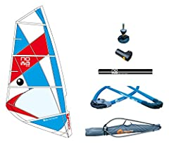 The BIC Sport Nova rig is ideal for beginner and recreational sailing on flat water. Simple, lightweight, durable and very quick and easy to rig. This is a complete package: Lightweight mast, properly sized boom, Sail, and a mast base that al...