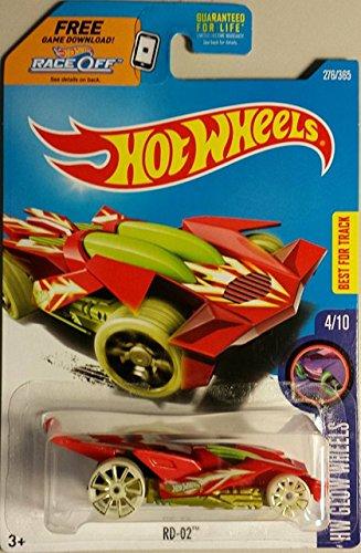 hot wheels red rd-02 hw glow wheels 4 of 10 2017
