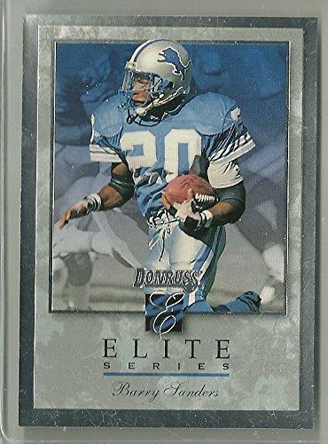 1999 Donruss Football Barry Sanders Elite Series Card # 1987/10,000