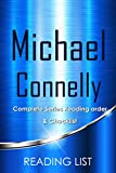 Michael Connelly Books Checklist: Harry Bosch Series in order and Mickey Haller Series in order