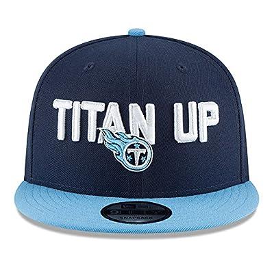 New Era Tennessee Titans 2018 NFL Draft Spotlight Snapback 9Fifty Adjustable Hat - Navy