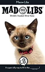 Calling all cat lovers! Our newest original Mad Libs features 21 silly stories all about our furry feline friends! You can buy one for yourself and all 27 of your cats!