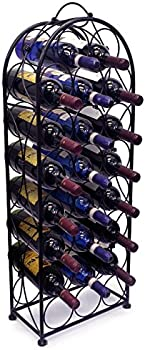 Sorbus Bordeaux Chateau 23-Bottle Wine Rack