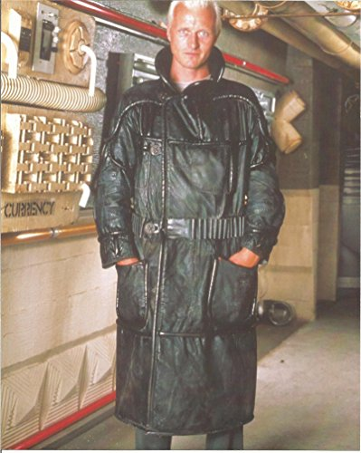 (Blade Runner Rutger Hauer in black leather coat - 8 x 10 Photo 004 )
