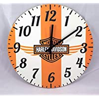 Relógio Parede Harley Davidson Moto Madeira Mdf