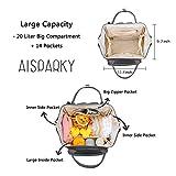 Diaper Bag Backpack Multifunction Travel Backpack