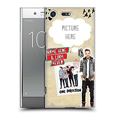 Custom Customized Personalized One Direction 1D Liam 4ever I Ship Us Hard Back Case for Sony Xperia XZ (Us Premium Hcg)