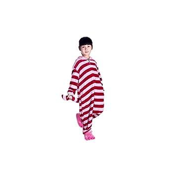 ferrand kigurumi pijamas unisexo disfraz animal franela para nios gato de cheshire l