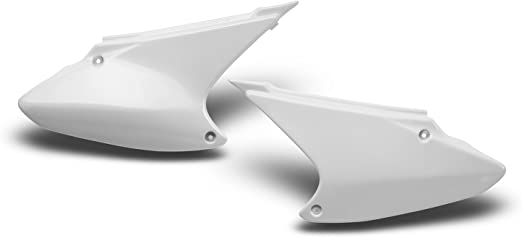 205031 Maier USA Side Panels for Honda CRF80F CRF100F White