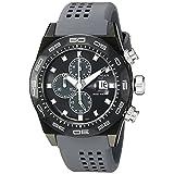 Locman Italy Men's 0217V3-GKGYNKS2A Stealth 300 Metri Analog Display Quartz Grey Watch