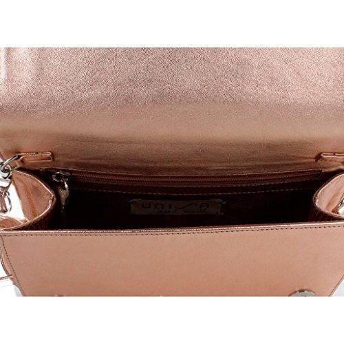 UNISA Color LMT de y ZDIVA Shoppers Bolsos para Hombro Bolsos Rosa Rosa Mujer UNISA Rosa Marca Shoppers Modelo Mujer para Y De Hombro zqW4YgW