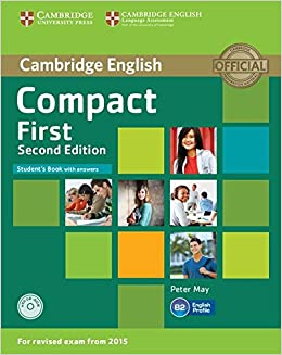 Compact first students book with answers with cd rom second compact first students book with answers with cd rom second edition amazon peter may libros en idiomas extranjeros fandeluxe Image collections