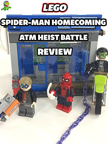 Review  Lego Spider Man Homecoming Atm Heist Battle Review