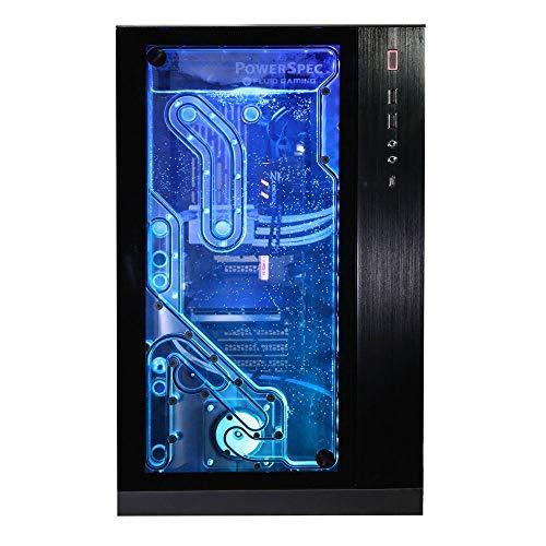PowerSpec X603 Fluid Gaming Desktop PC; coolant Included, Intel Core i7-9700k Processor 3.6GHz; GeForce RTX 2080 8GB GDDR6; 16GB DDR4-3200 RAM