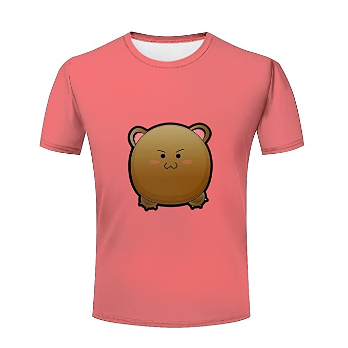 ad68a69b216e Summer Mens Stylish 3D tshirts cute cartoon Graphic pink Adults tees tops S