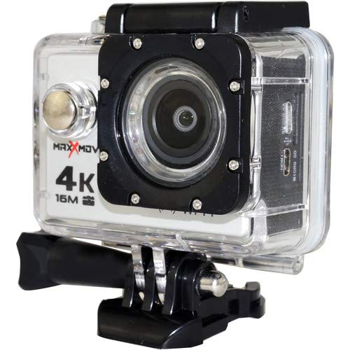MaxXmove MXM-AC-RIZEH4-S 30fps 4K Action Camera, Silver