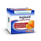 Arginaid Arginine Powder Drink Mix, Orange, 0.32 oz Packet, 56 Pack For Sale