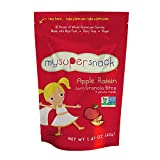 Image of MySuperSnack Soft Granola Bites, Apple Raisin, 1.41 Ounce (Pack of 6)