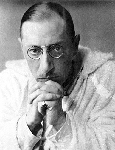 Posterazzi GLP469052LARGE Poster Print Collection Igor Stravinsky (1882-1971)./American (Russian-Born) Composer. Photographed In 1921. Poster Print By, (18 X 24), Multicolored
