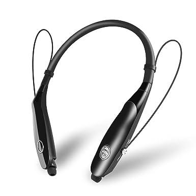 Etpark Auriculares Bluetooth Neckband, Inalámbrico Magnético Estéreo Deportivos In-ear Auricular con Micrófono Neckband