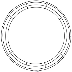 Panacea 36008 Wire Wreath Frame 9