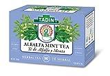 Tadin Herb & Tea Co. Alfalfa Mint Herbal Tea, Caffeine Free, 24 Tea Bags, Pack of 6 For Sale