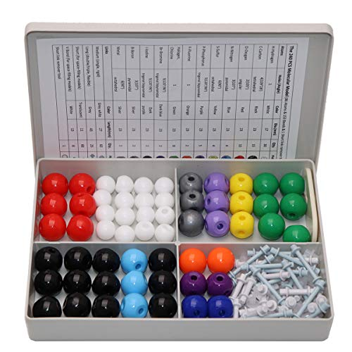 - Chemistry Model Kit, 240 Pcs Organic Inorganic Molecular Model Kit with Atoms & Bonds, Chemistry Modeling Kit for Students,Teachers,Kids, Link Remover Tool Included