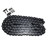 525 Pitch 122 Links Black O-Ring Chain for Honda VT750 Shadow Spirit 2001 2002 2003 2004 2005 2006 2007