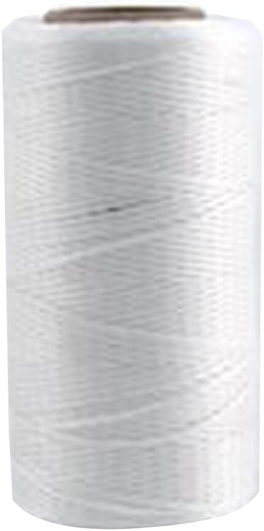 beige Tama/ño libre Cuerda de nailon encerado de 260 m material resistente de 1 mm cuerda de hilo para abalorios con carrete para hacer joyas y pulseras