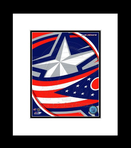Columbus Blue Jackets Team Logo Framed Picture 8x10