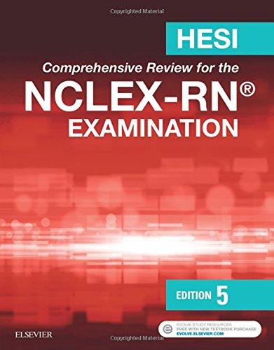 Hesi Compreh.Rev.F/Nclex Rn... W/Access