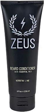 ZEUS Beard Conditioner Wash for Men - Verbena Lime Scent -