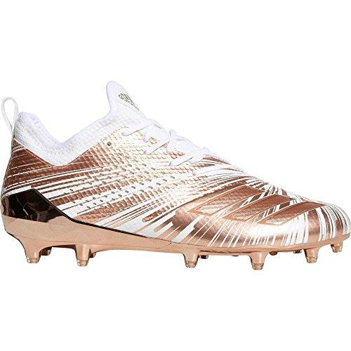 実り多いスラム街ロケーション(アディダス) adidas メンズ アメリカンフットボール シューズ?靴 adidas adiZERO 5-Star 7.0 Metallic Football Cleats [並行輸入品]