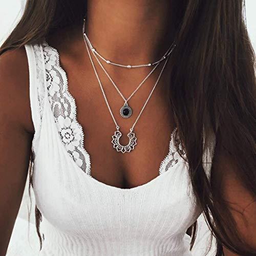 Edary Vintage Layered Necklace Neckalces product image