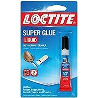 Loctite Super Glue Liquid 2-Gram Tube (1399967) by Loctite