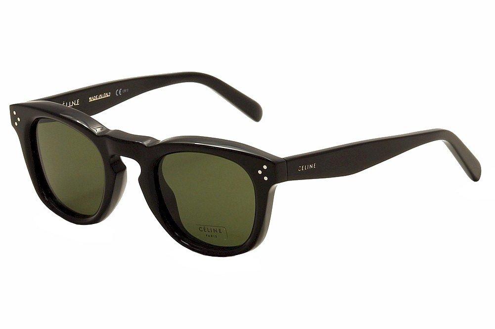New Unisex Sunglasses Celine CL 41371/S Bevel Square 086/85 B01695NNTO ブラック|46. ミリメートル ブラック