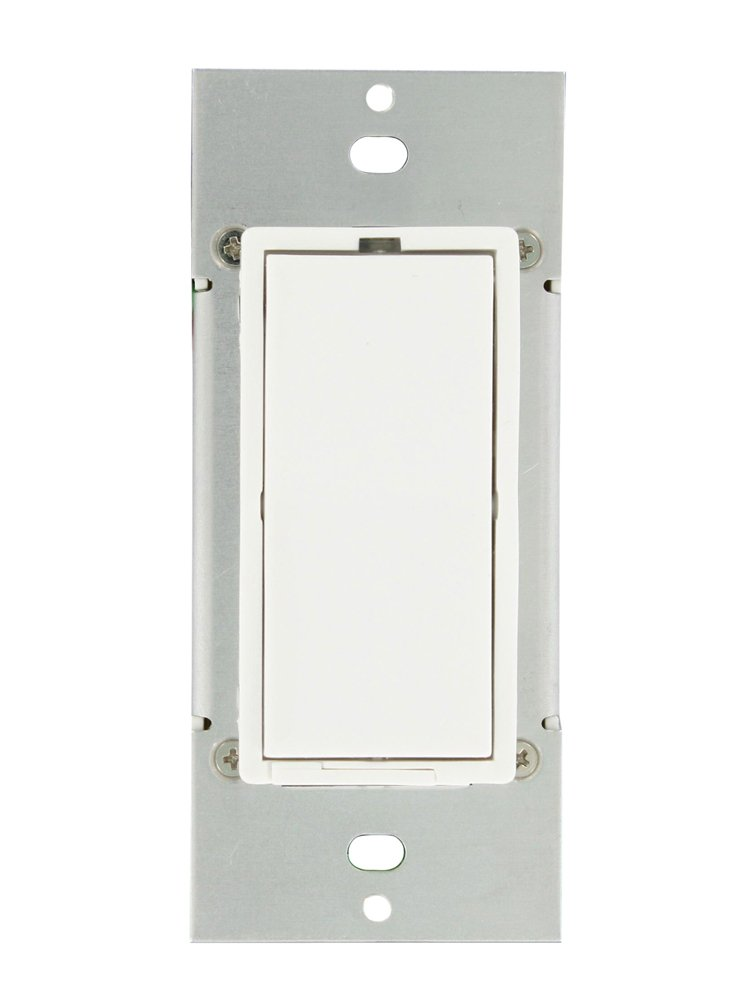 Leviton 35A00-1 600-Watt HLC UPB Dimmer Switch, White - Wall Dimmer ...