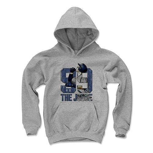 - 500 LEVEL Aaron Judge New York Baseball Youth Sweatshirt (Kids Medium, Gray) - Aaron Judge Sketch B